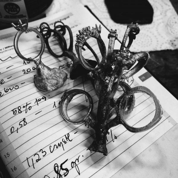 Pracownia Niny Skidan - pierścionki, kolczyki, zawieszki