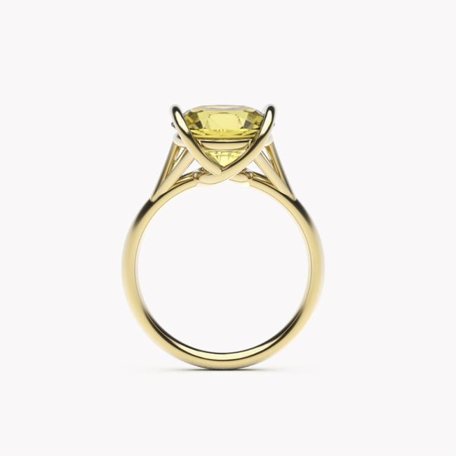 Evra – żółte złoto 585 / cytryn