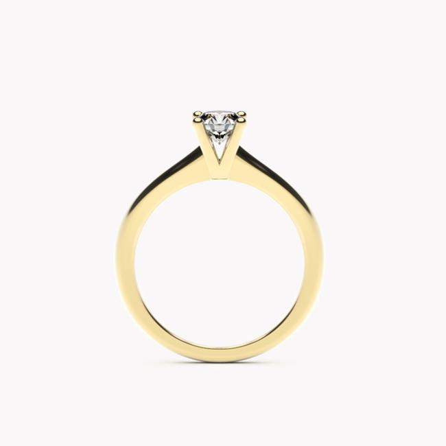 Soji – żółte złoto 585 / brylant