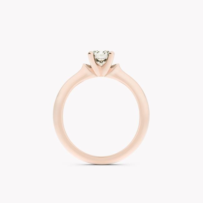 Ise – różowe złoto 585 / brylant