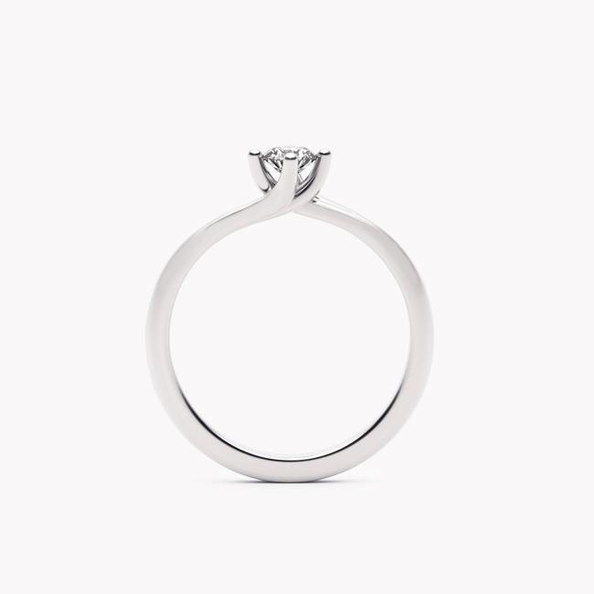 Rosa – białe złoto 585 / brylant 0.20ct