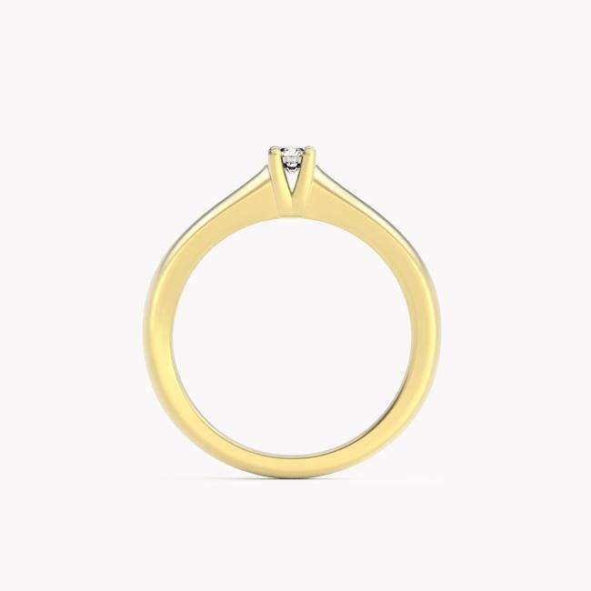 Soji – żółte złoto 585 / brylant 0,10ct
