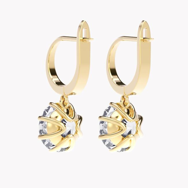 Elara - żółte złoto 585 / topaz 7.2ct