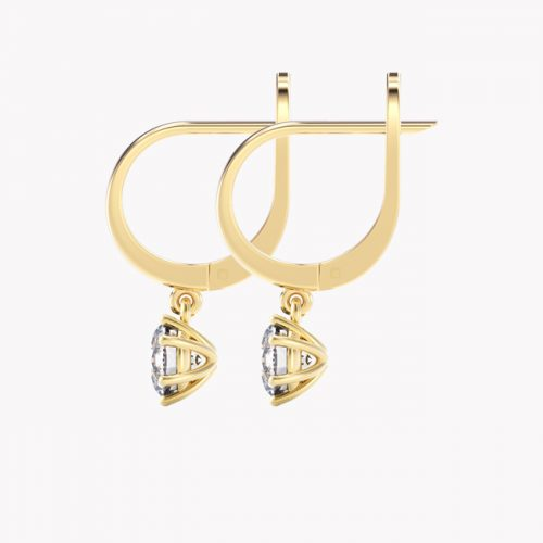 Elara - żółte złoto 585 / topaz 2ct