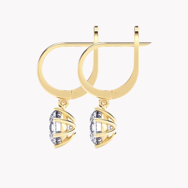Elara - żółte złoto 585 / topaz 4ct