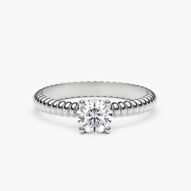 Leda – białe złoto 585 / brylant 0.50ct